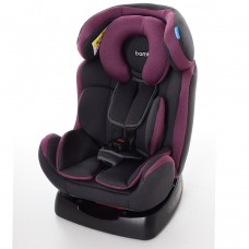 Автокресло Bambi M 3678 Pink Gray, серый с розовым, группа 0+1+2