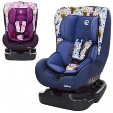 Автокресло El Camino ME 1010-1 INFANT, голубой и фиолетовый, группа 0+1