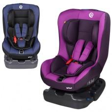 Автокресло El Camino ME 1010-3 INFANT, фиолетовый и синий, группа 0+1