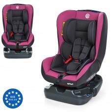 Автокресло El Camino ME 1010 INFANT Pink Shadow, cеро-розовый, группа 0+1