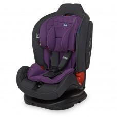 Автокресло El Camino ME 1065 TALISMAN Purple, фиолетовый, лен, группа 0+1+2