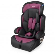 Автокресло Bambi M 3546 Pink Gra, серо-розовый, лен, группа 1+2+3