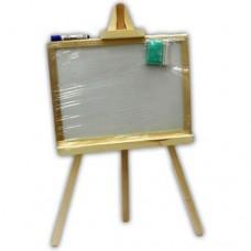 Доска для рисования на 3-ноге малая 48*35 двухсторон. немагн.Смерека М324835 ТМ Дерево