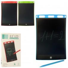 Досточка 85126 для рисования, 8, 5дюйм, LCDэкран, на бат табл, 3 цвета
