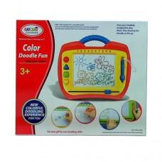Досточка HM1309A для рисования, 37 см, цветная, ручка, печать