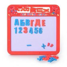 Досточка магнитная 0185 UK магнитная азбука мал, 2 в 1, русский, украинский алфавит