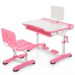 Детская парта со стульчиком Bambi M 3823-8 регулируемая, розовая