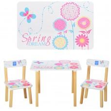 Столик 501-37 со стульчиком, Весна