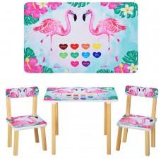 Столик 501-43 со стульчиком, Фламинго
