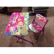 Столик A19-ABC стол 40*60см, 1 стульчик дети