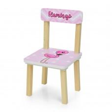 Стульчик 401-70-2 ш30-г30-в51см, высота до сиденья 23см, сиденье ш28-г24см, фламинго