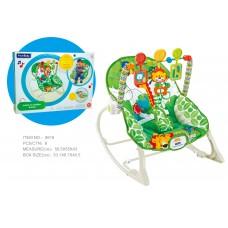 Детский шезлонг Bambi 8616, зеленый