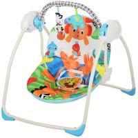 Детские качели-шезлонг Bambi M 3241, голубой