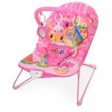 Детский шезлонг Bambi 303-8, розовый