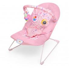 Детский шезлонг Bambi 30602-1, розовый