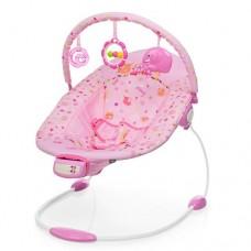 Детский шезлонг-качалка Bambi 6358-1, розовый