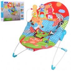 Детский шезлонг Bambi 88963, разноцветный