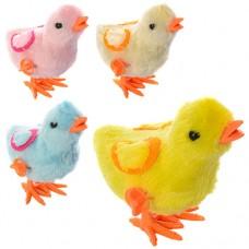 Заводная игрушка 16730 цыпленок, 4 цвета