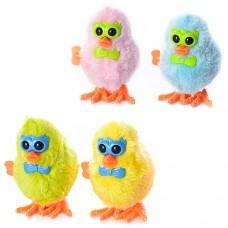 Заводная игрушка 16831A цыпленок 8см, 4 цвета