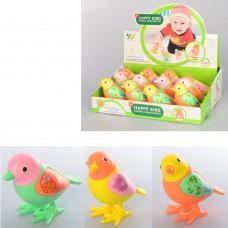 Заводная игрушка A780-23 птичка, 9см, 12шт 3вида