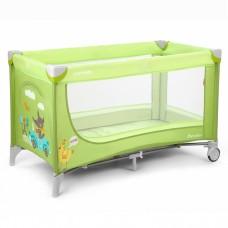 Кроватка-манеж Carrello Piccolo CRL-7303 Green, зеленый