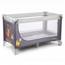 Кроватка-манеж Carrello Piccolo CRL-7303 Grey, серый