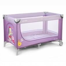 Кроватка-манеж Carrello Piccolo CRL-7303 Purple, фиолетовый
