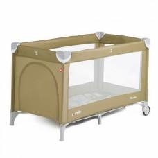 Кроватка-манеж Carrello Piccolo CRL-9203 Caramel Beige, бежевый