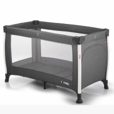Кроватка-манеж Carrello Polo CRL-11601 Charcoal Grey, серый
