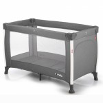 Кроватка-манеж Carrello Polo CRL-11601 Silver Grey, серый