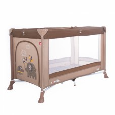 Кроватка-манеж Carrello Solo CRL-11701 Coconut Brown, коричневый
