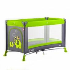 Кроватка-манеж Carrello Solo CRL-11701 Lime Green, серый с зеленым