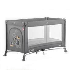 Кроватка-манеж Carrello Solo CRL-11701 Marble Grey, серый