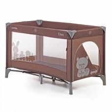 Кроватка-манеж Carrello Uno CRL-7304 Brown, коричневый
