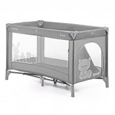 Кроватка-манеж Carrello Uno CRL-7304 Grey, серый