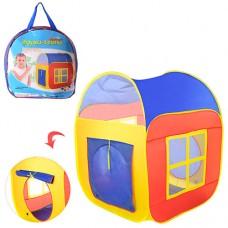 Палатка M 1441 куб, 86-86-105см, 2вх-на липуч, 2окна-сетка, в сумке