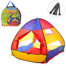 Палатка M 3306 пирамида, 112-114-115см, 1вход на липучке, колышки4шт, в сумке, 39-40-3см