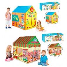 Палатка M 3789 домик, 103-93-69см, 1вход на завязкаж, 2в школа/магазин