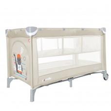 Кроватка-манеж Carrello Piccolo+ CRL-9201/2 Cream Beige, бежевый