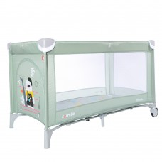 Кроватка-манеж Carrello Piccolo CRL-9203/1 Cameo Green, светло-зеленый