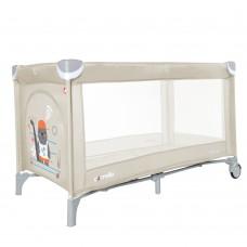 Кроватка-манеж Carrello Piccolo CRL-9203/1 Cream Beige, бежевый