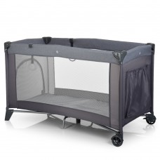 Кроватка-манеж El Camino Safe ME 1016 Gray, серый