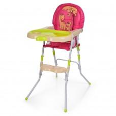 Детский стульчик для кормления Bambi 1010A Pink, розовый