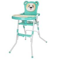 Детский стульчик для кормления Bambi 113-15, бирюзовый
