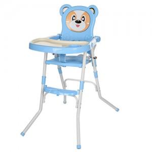 Детский стульчик для кормления Bambi 113-4, голубой