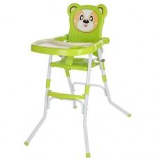 Детский стульчик для кормления Bambi 113-5, салатовый