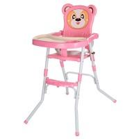 Детский стульчик для кормления Bambi 113-8, розовый