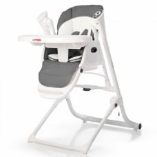 Детский стульчик-люлька для кормления Carrello Triumph CRL-10302/1 Palette Grey, темно-серый