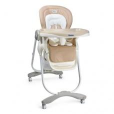 Детский стульчик для кормления El Camino M 3236-6 Dolce, бежевый