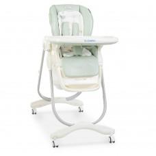 Детский стульчик для кормления El Camino M 3236 Dolce Aqua, бирюзовый